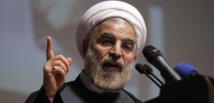 روحانى: طهران لن تستسلم للضغوط الأمريكية والتهديد بالحرب