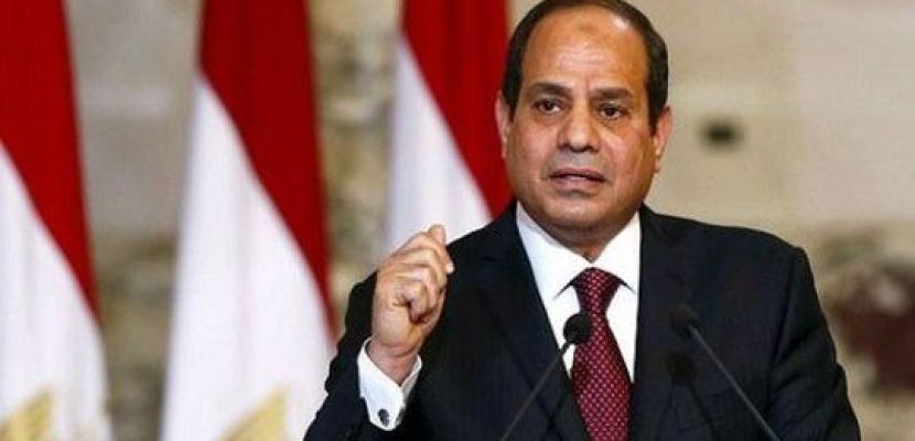 الرئيس السيسي يصدر قرارا بتمديد إعلان حالة الطوارئ 3 شهور اعتبارا من الجمعة