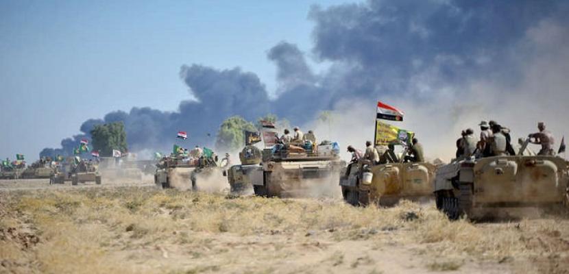 عمليات عسكرية عراقية فى كركوك ردا على استفتاء انفصال إقليم كردستان عن بغداد