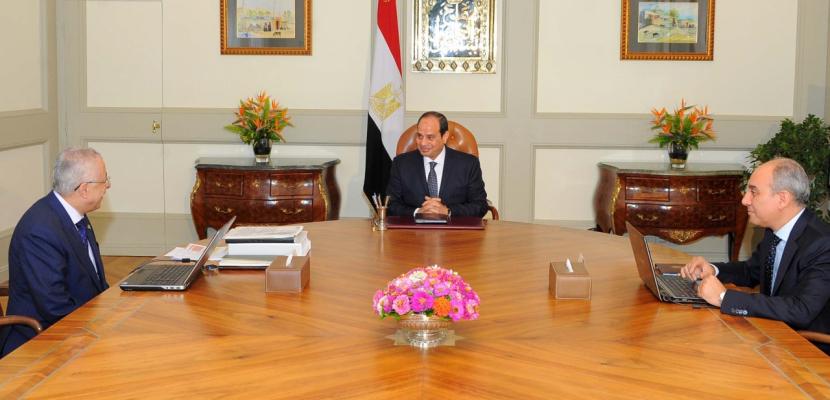 الرئيس السيسي يستعرض مع شوقي تطوير منظومة التعليم