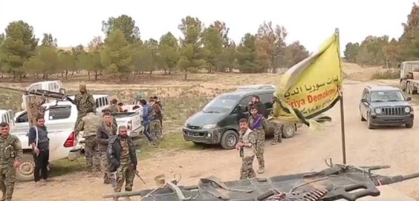 """قوات """"سوريا الديمقراطية"""" تتقدم داخل بلدة هجين في شرق سوريا"""