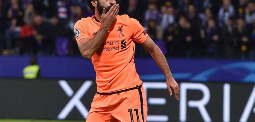 محمد صلاح أفضل لاعب فى مباراة ليفربول وماريبور بدوري أبطال أوروبا