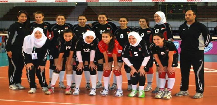 منتخب مصر لسيدات الطائرة يخسر أمام الكاميرون 3-1 في أمم افريقيا