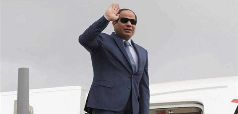 الرئيس السيسى يغادر جزيرة كريت اليونانية بعد مشاركته بالقمة الثلاثية