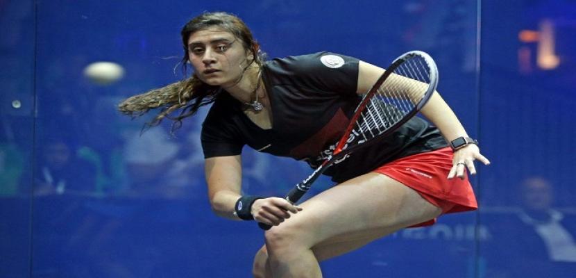 منتخب سيدات الإسكواش يتأهل لنصف نهائي بطولة العالم للفرق
