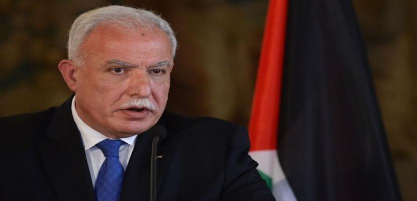 الخارجية الفلسطينية تطالب المجتمع الدولي بمواجهة التحريض على الشعب وقيادته