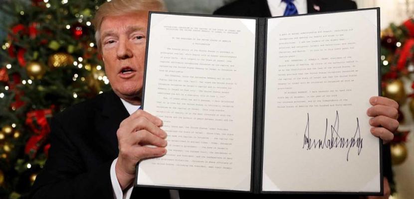 توالي الإدانات الدولية تنديدا بالقرار الأمريكي
