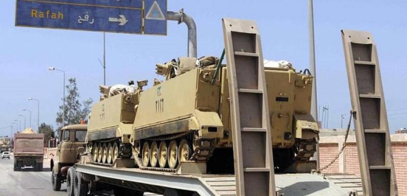الجريدة الرسمية تنشر قرار حظر التجوال في شمال سيناء