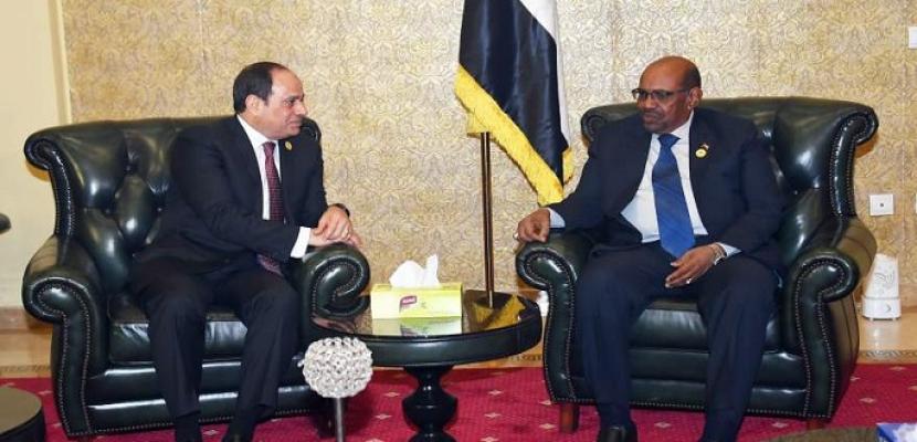 قمة مصرية سودانية بالخرطوم اليوم لتعزيز التعاون المشترك بين البلدين