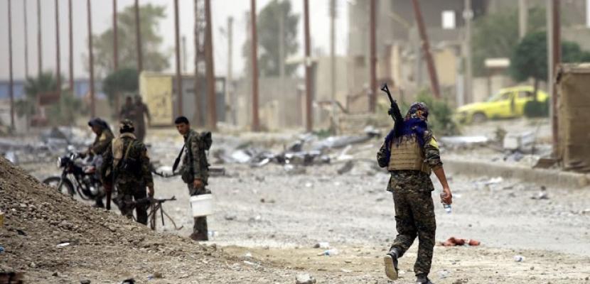 """عشرات القتلى فى هجوم لداعش ضد """"سوريا الديمقراطية"""" شرقى دير الزور"""