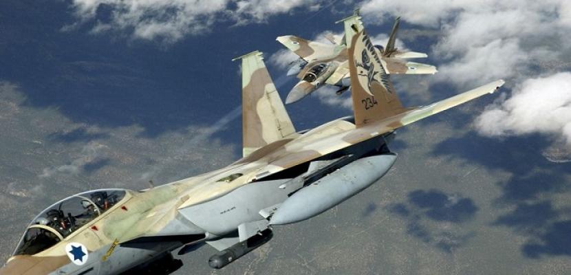 الطيران الحربى الإسرائيلى ينتهك المجال الجوى اللبنانى