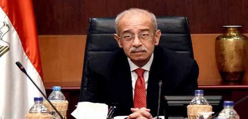 رئيسا وزراء مصر والأردن يبحثان إنشاء مركز لوجيستي للمساهمة فى إعمار سوريا والعراق