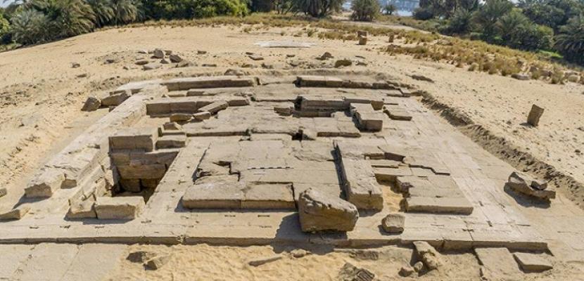 اكتشاف بقايا معبد رومانى بكوم الرصرص بأسوان