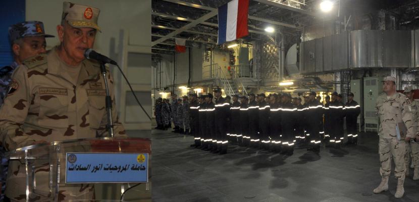 """بالفيديو و الصور .. رئيس أركان حرب القوات المسلحة يشهد المرحلة النهائية للتدريب المصري الفرنسي المشترك """" كليوباترا 2018 """""""