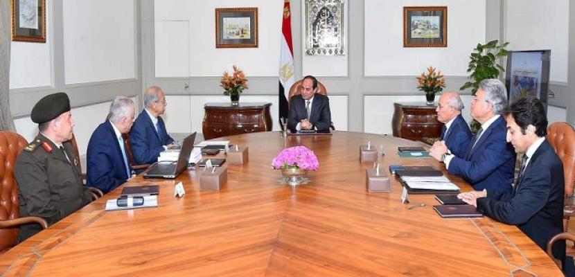 بحضور إسماعيل وطارق شوقى.. الرئيس السيسي يناقش استراتيجية تطوير منظومة التعليم