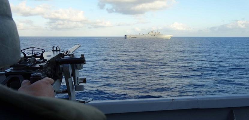 بالصور.. البحرية المصرية والفرنسية تنفذان تدريبا مشتركا بنطاق البحر الأحمر