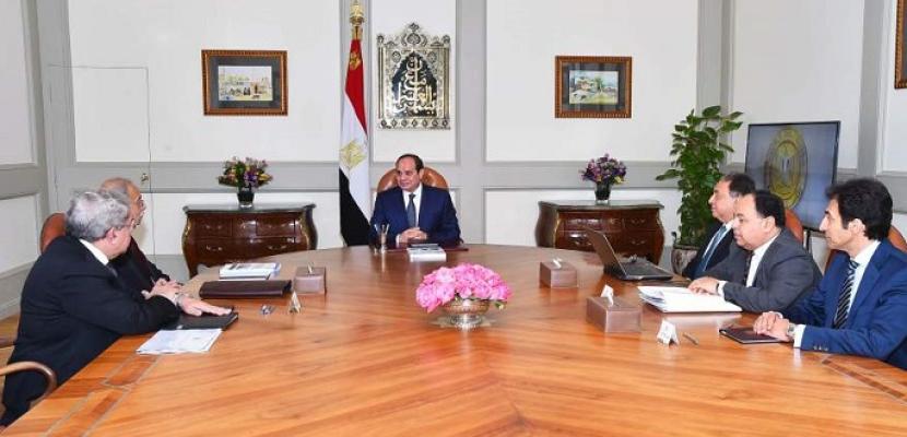 الرئيس السيسي يستعرض الاستعدادات الجارية لتطبيق منظومة التأمين الصحي الشامل
