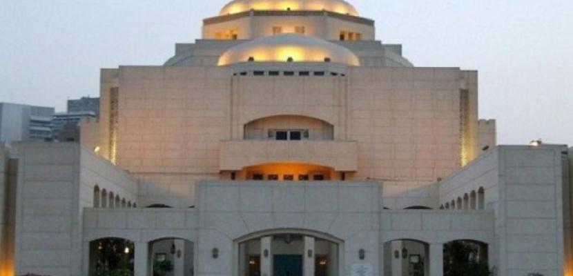 دار الأوبرا تنظم حفلاً صوفياً على مسرح الجمهورية