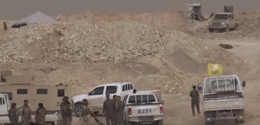 قوات سوريا الديمقراطية تحرز تقدما في اشتباكات مع داعش في شرق سوريا