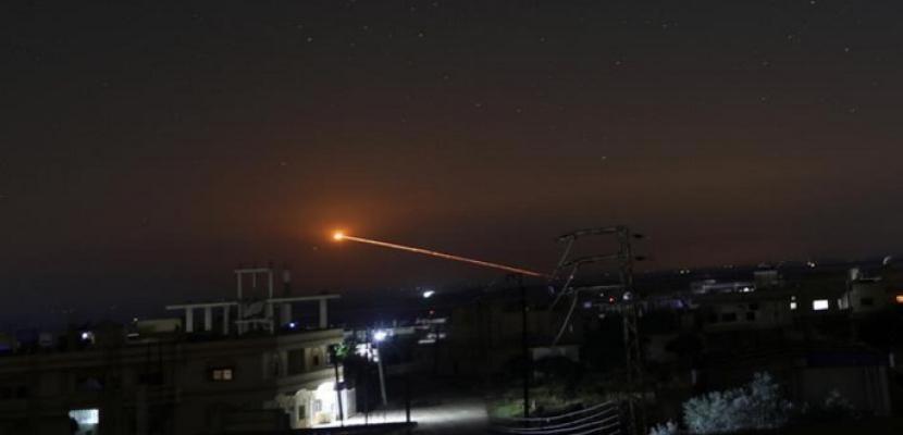 إسرائيل تطلق صواريخ على محافظة القنيطرة جنوب سوريا
