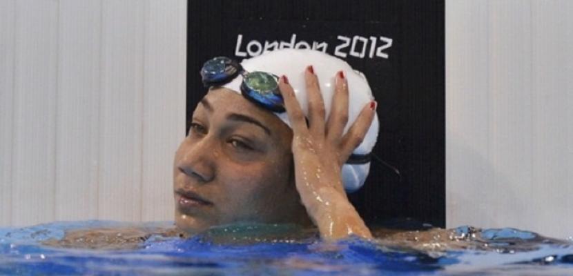 المصرية فريدة عثمان تفوز بميدالية فضية في منافسات السباحة بدورة ألعاب البحر المتوسط