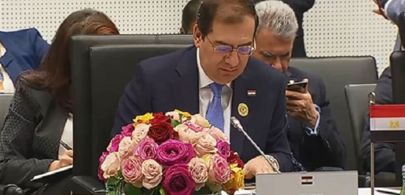 وزير البترول يشارك في مؤتمر «مرصد الطاقة » بالتعاون مع الاتحاد الأوروبى