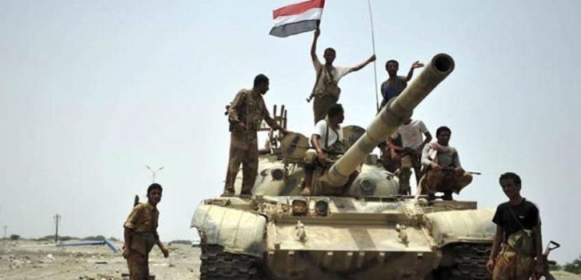 الجيش اليمني يحرر مواقع جديدة في القبيطة جنوبي تعز