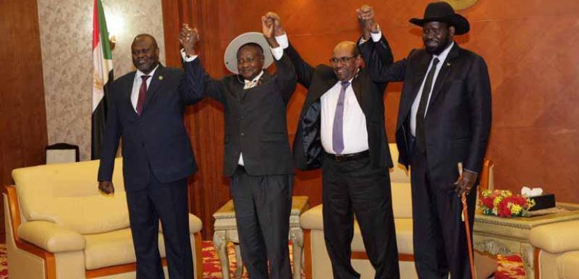 اليوم .. اتفاق لتقاسم السلطة بين حكومة جنوب السودان والمتمردين
