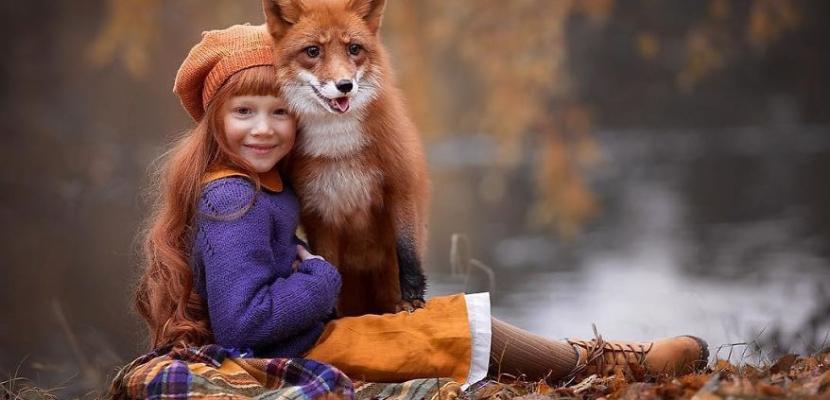 الطبيعة الخلابة.. و سحر الطفولة
