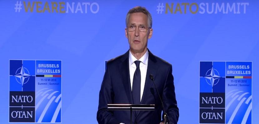 """""""الناتو"""" قلق من أنشطة إيران المزعزعة للاستقرار"""