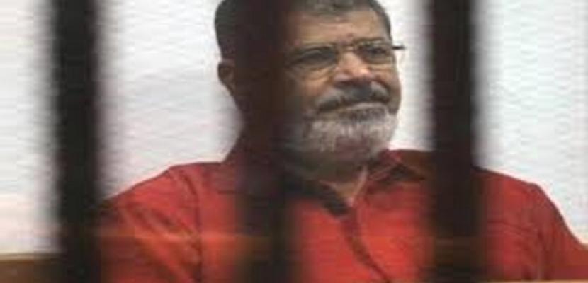 تأجيل إعادة محاكمة مرسي في قضية التخابر لـ 6 سبتمبر