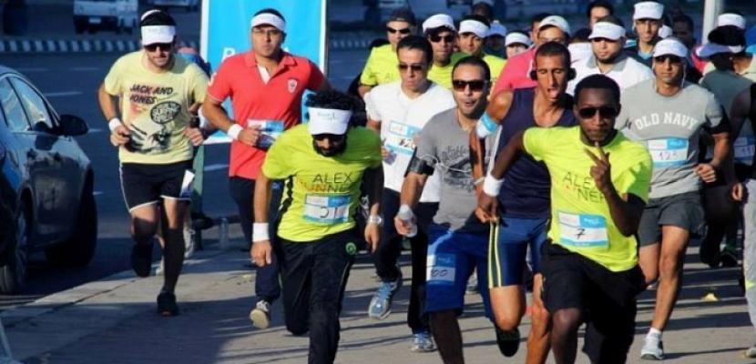 انطلاق ماراثون للجري بالاسكندرية بمشاركة وزير الرياضة والمحافظ