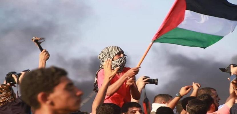 """غزة تستعد لمظاهرات جمعة """"انتفاضة الحجارة الكبرى"""""""