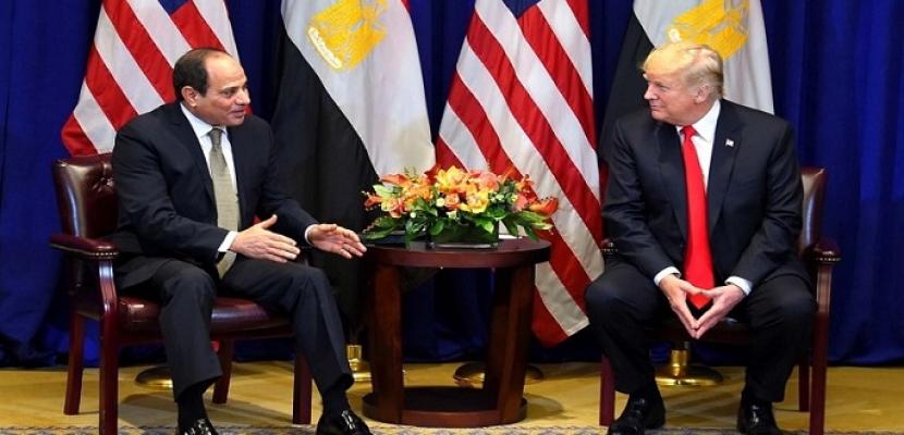 العلاقات المصرية الأمريكية.. تاريخ ممتد وتعاون استراتيجي