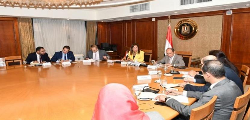 وزيرا التجارة والتخطيط يبحثا تحسين وزيادة معدلات التصدير في إطار رؤية مصر 2030