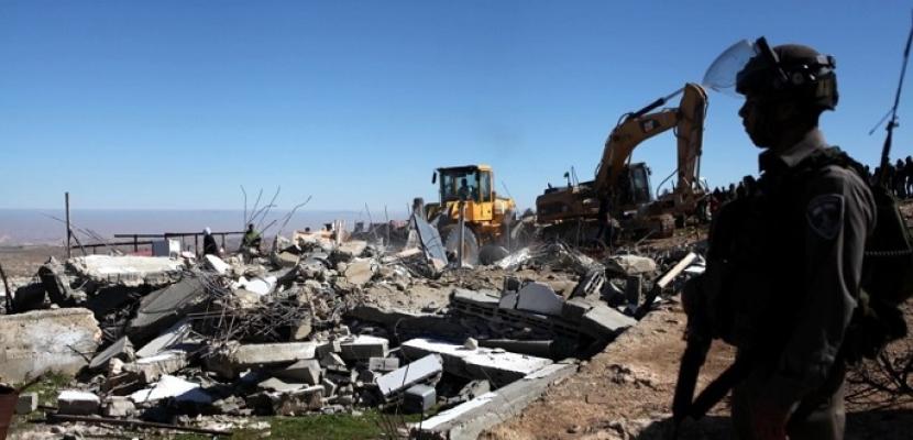 إسرائيل تعطي مهلة لإخلاء قرية الخان الأحمر.. والخارجية الفلسطينية تصف القرار بأنه استخفاف بالإجماع الدولي