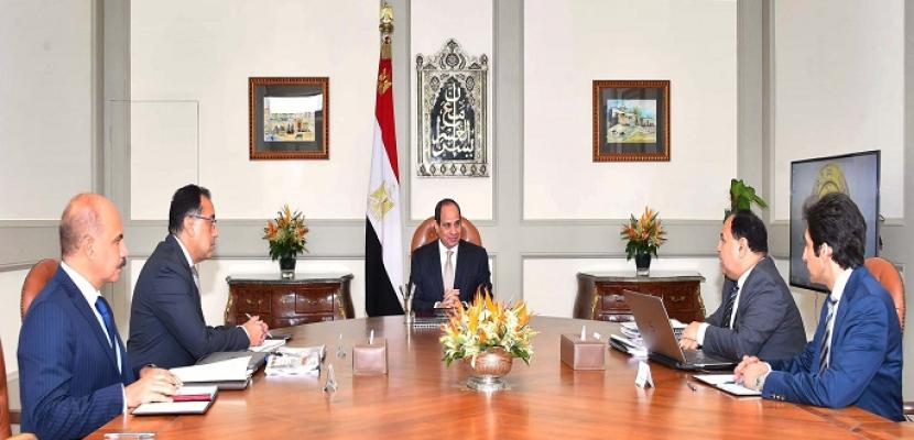 الرئيس السيسى يوجه بمواصلة جهود انهاء وفض المنازعات الضريبية لزيادة ثقة الممولين والمستثمرين