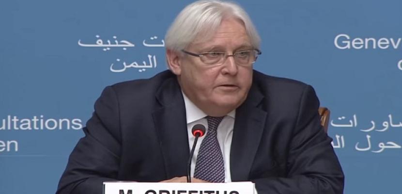 جريفيث يبحث مع الحوثيين سبل تنظيم مفاوضات سلام جديدة