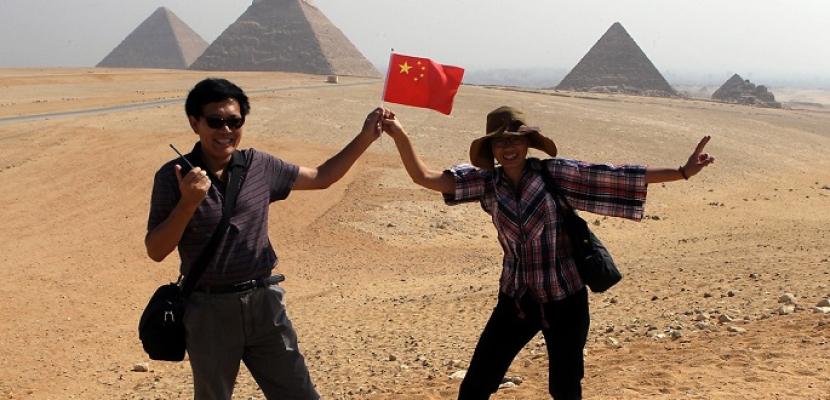 مصر تحتل المكانة الأولى بين المقاصد السياحية الأفريقية الأكثر شعبية لدى الصينيين