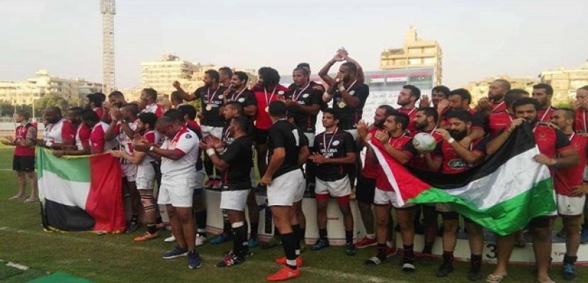 منتخب مصر للرجبي يتوج بلقب البطولة العربية