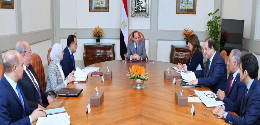 الرئيس السيسي يوجه بالاستمرار في تنفيذ مبادرة الانتهاء من قوائم انتظار المرضى