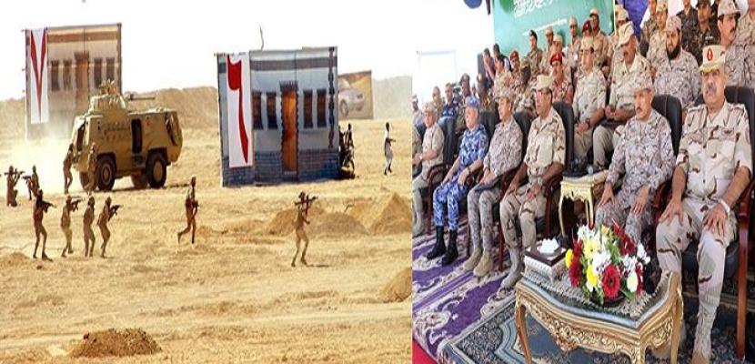 """بالفيديو.. ختام فاعليات التدريب المصري السعودي المشترك """" تبوك-4 """""""