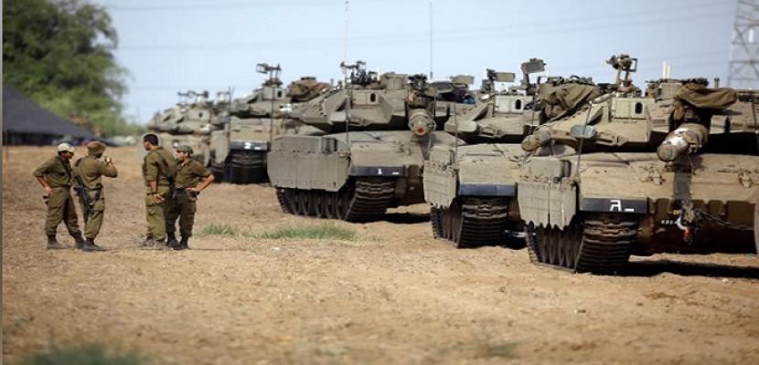 الاحتلال الإسرائيلي ينشر تعزيزات عسكرية على حدود غزة