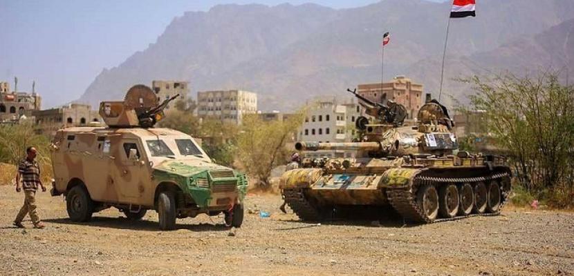 الجيش اليمني يحرر مواقع جديدة في جبهة ناطع بالبيضاء
