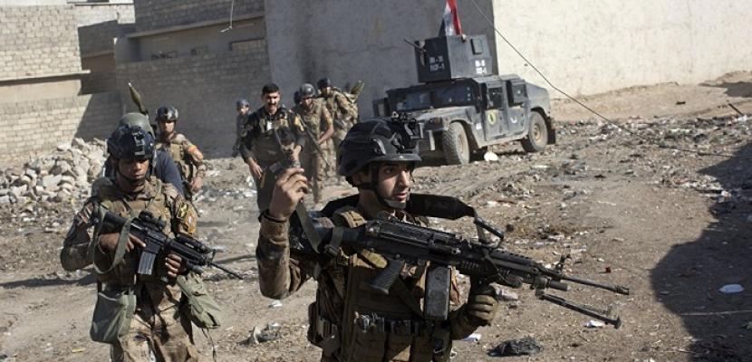 القوات العراقية تنفذ عملية أمنية لمطاردة داعش شمال شرقي ديالي