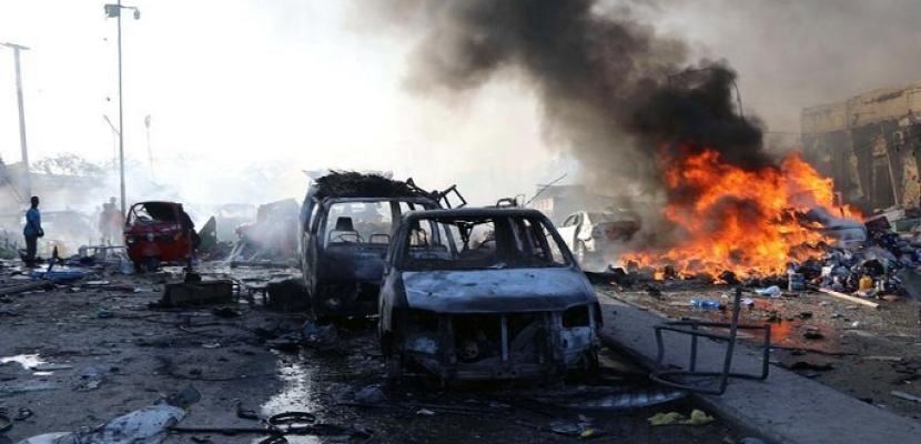 ارتفاع عدد ضحايا انفجارات مقديشيو إلى 53 قتيلا وأكثر من 100 مصاب