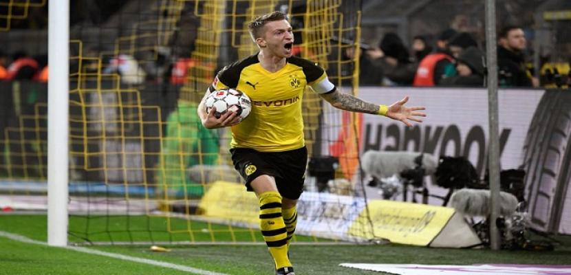 بوروسيا دورتموند يواصل صداراته للدوري الألماني بفوزه على بايرن ميونخ 3 ـ 2