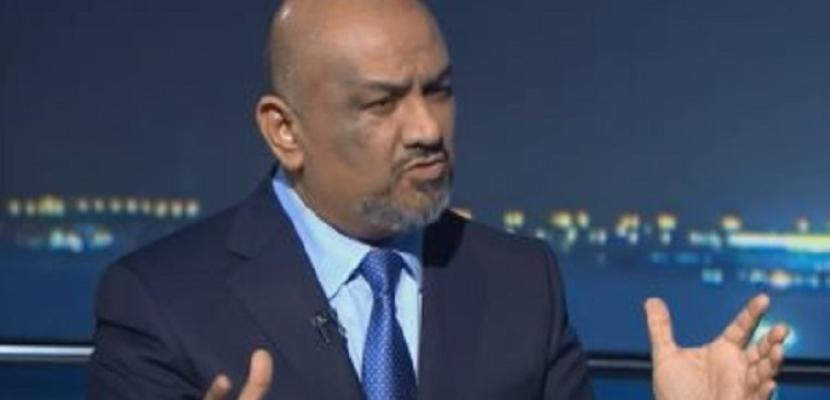 وزير الخارجية اليمني يؤكد دعم بلاده لجهود المبعوث الأممي لليمن