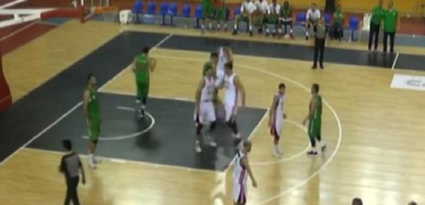 المنتخب يهزم الجزائر في افتتاح البطولة العربية لكرة السلة