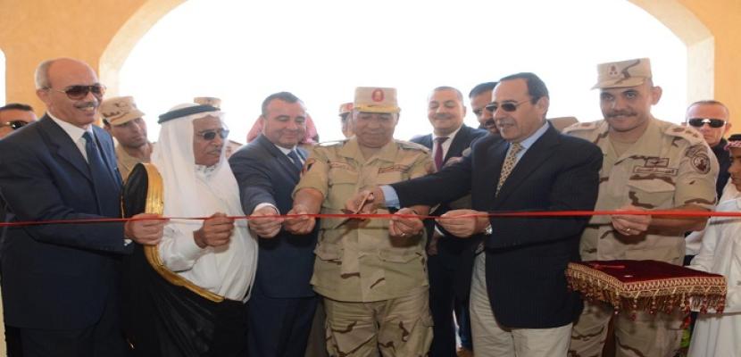 بالفيديو والصور.. القوات المسلحة تنشئ تجمعا حضاريا جديدا بوسط سيناء